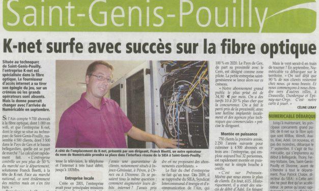 K-Net surfe avec succès sur la fibre optique