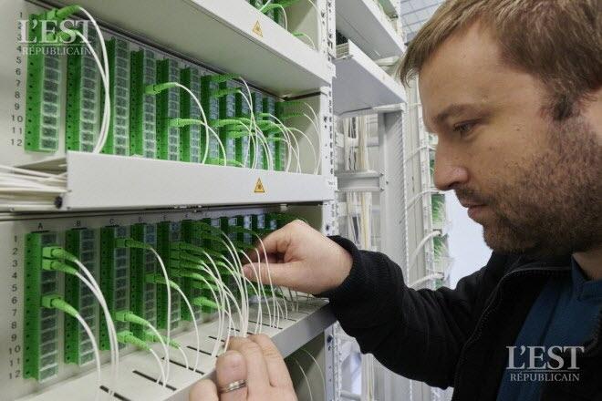 Grand Nancy – Télécommunications Fibre : le réseau métropolitain au gigabit